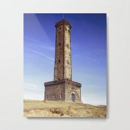 Peel Tower Metal Print