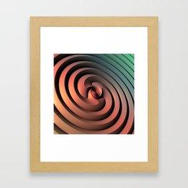 Spiraling One Framed Art Print