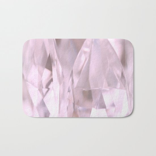 Something Pink And Shiny... For You! Bath Mat