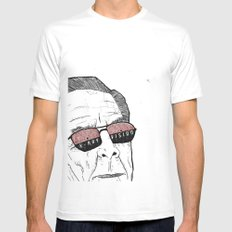 x-ray vision Mens Fitted Tee White MEDIUM