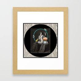 The Hoop Fairy & The Clown Canary Framed Art Print