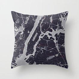 New York City Monochrome Throw Pillow