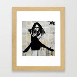 La Femme Framed Art Print