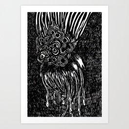 FM #3 (Mini Print) Art Print