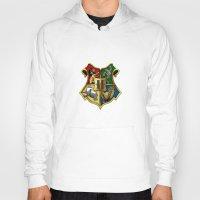 hogwarts Hoodies featuring HOGWARTS - HOGWARTS by alexa