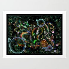 Shoggoth Art Print