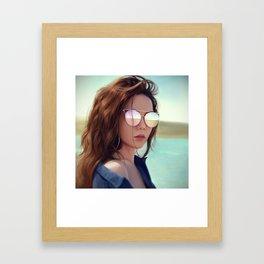 G.E.M. 倒數 Tik Tok Framed Art Print