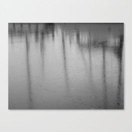 Harbor Frost Canvas Print