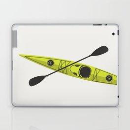 Kayak - Lime Green Laptop & iPad Skin