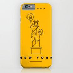 Minimal New York City Poster iPhone 6s Slim Case