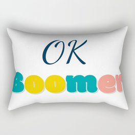 Ok Boommer Rectangular Pillow
