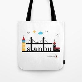 Istanbul. Tote Bag