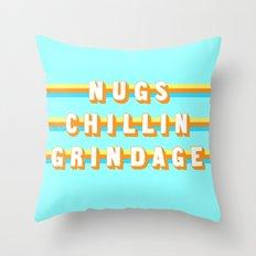 Encino Man (Rule of Threes) Throw Pillow
