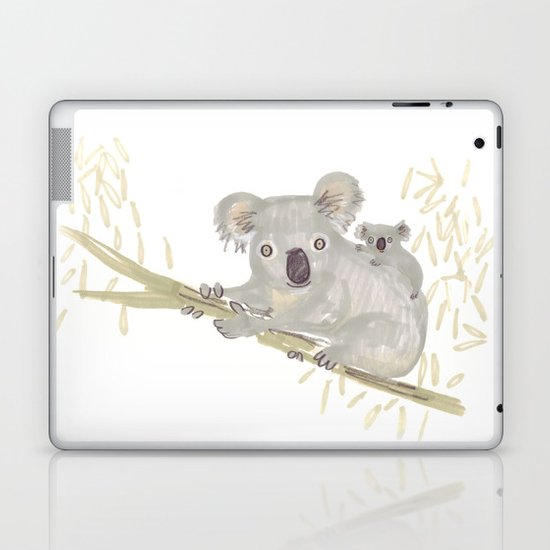 Koala & baby Laptop & iPad Skin