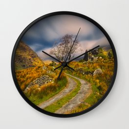 The Abandoned Farmhouse Wall Clock