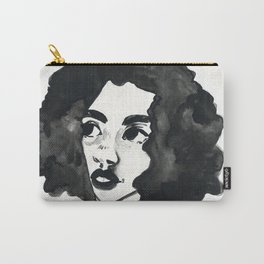 Inkjet afro Carry-All Pouch