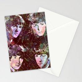 Paul, John, Ringo, George Stationery Cards