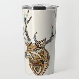 Deer // Animal Poker Travel Mug