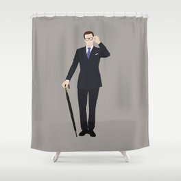 Kingsman, Harry Hart Shower Curtain
