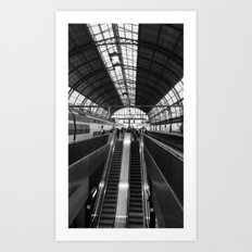 Amsterdam Central Station Art Print