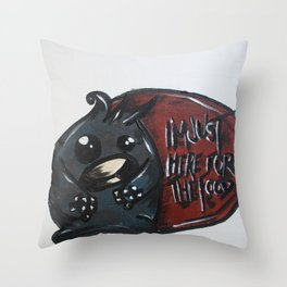 Mugshots: Hans Throw Pillow