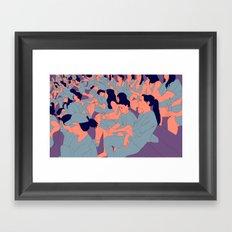 The Bleachers Framed Art Print