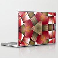 pyramid Laptop & iPad Skins featuring Pyramid by Deborah Janke