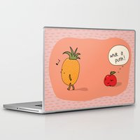 punk Laptop & iPad Skins featuring Punk by Peach it!