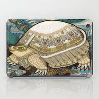turtle iPad Cases featuring Turtle by Yuliya
