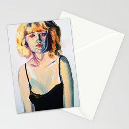 Portrait of Hannah Black Stationery Cards
