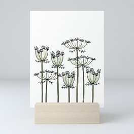 wild carrots Mini Art Print