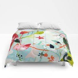 my summer garden Comforters