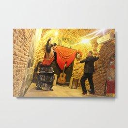 flamenco dancing Metal Print