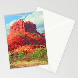 Big Bell Rock Sedona by Amanda Martinson Stationery Cards