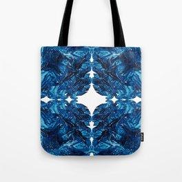 Ocean Imprint Tote Bag