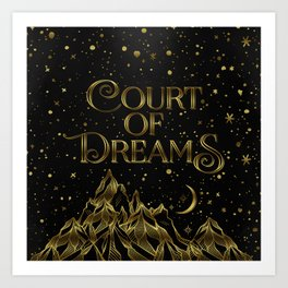 Court of Dreams Art Print