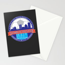 2013 Rochester Outlaws Logo Stationery Cards