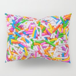 Dessert Rainbow Sprinkles Pattern Pillow Sham