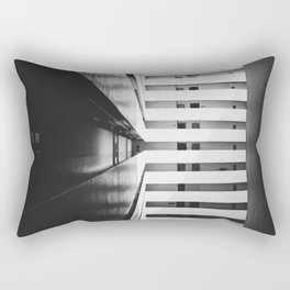 Folded Lines 2 Rectangular Pillow