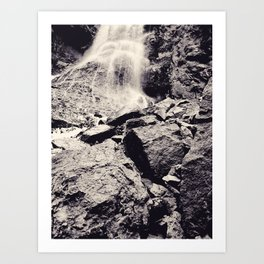 Water fall, Colorado Art Print