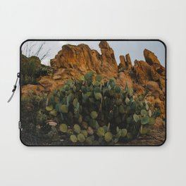 Giant Desert Cactus in Big Bend National Park Laptop Sleeve