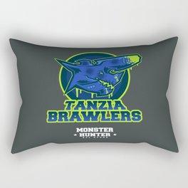 Monster Hunter All Stars - The Tanzia Brawlers Rectangular Pillow