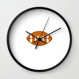 Fantasy Football Commish Shirt For Football Offensive Lineman T-Shirt Design German Player Tee Block Wall Clock