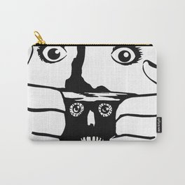 BRAINDEAD aka DEAD ALIVE Collectible Beth Bacon Design no. 3 Carry-All Pouch