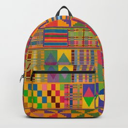 Kente Inspired Backpack