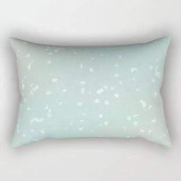 Glacial Blue Fleck Rectangular Pillow