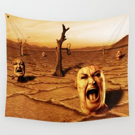 Gritos Wall Tapestry