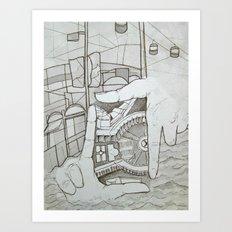 Fragmented Memory Art Print