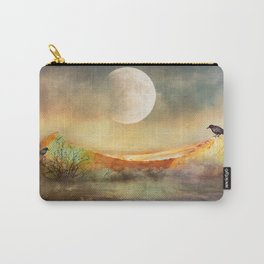 By the Light of the Crow Moon Carry-All Pouch