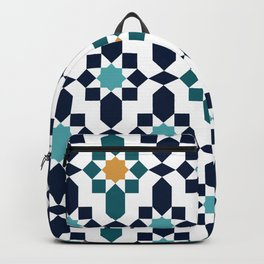 Moroccan style pattern Backpack